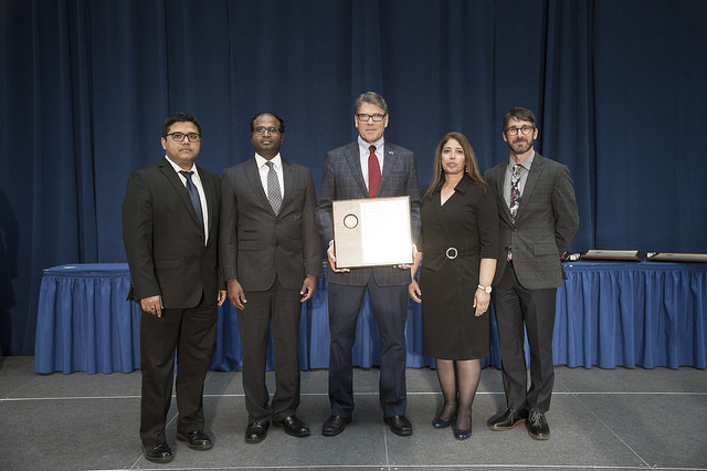 news: JBEI Pretreatment and Process Development Team Honored by Secretary of Energy