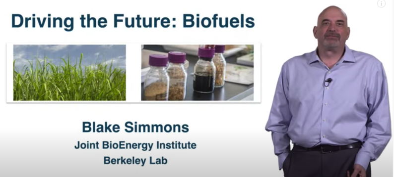 news: Blake Simmons Gives iBiology Seminar